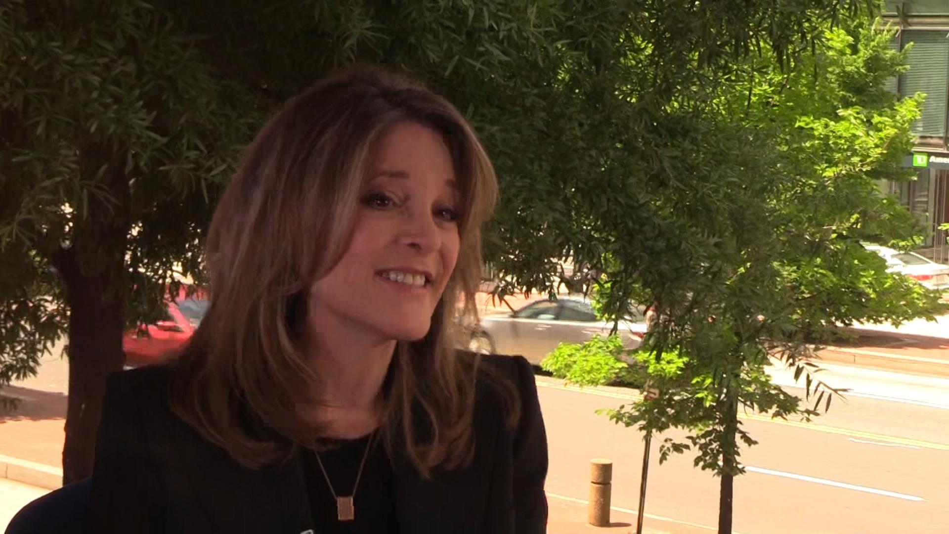 TTC Extra: Marianne Williamson on Children Issues