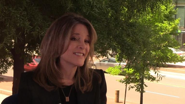 To The Contrary: TTC Extra: Marianne Williamson on Children Issues