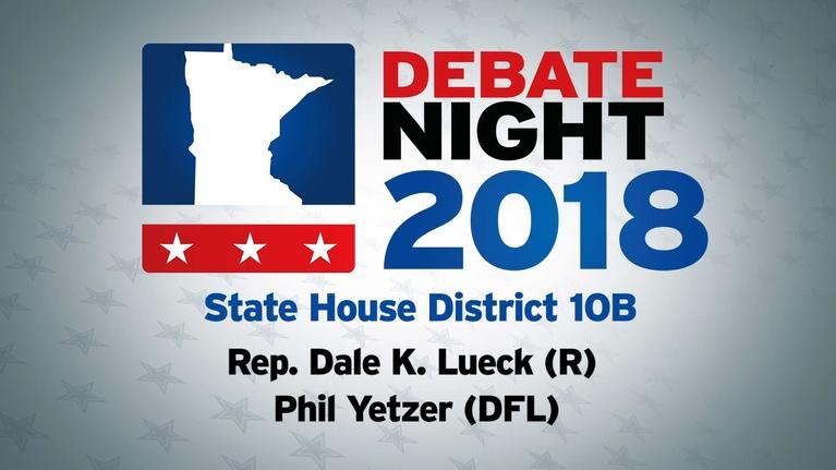 Debate Night: MN House District 10B
