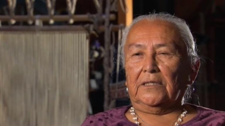 We Shall Remain: A Native History of Utah: Navajo Weaver Sarah Natani
