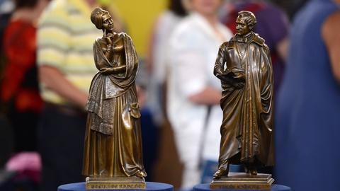 Antiques Roadshow -- S21 Ep13: Appraisal: 1847 Gustav Blaeser Bronze Sculptures