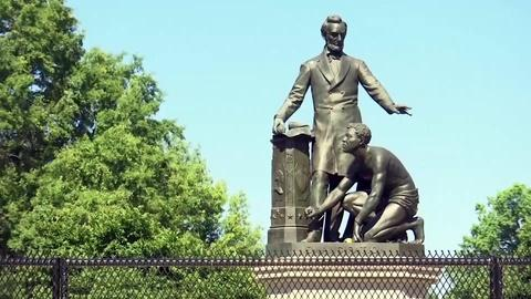 PBS NewsHour -- These Black Americans see Lincoln statue in different ways