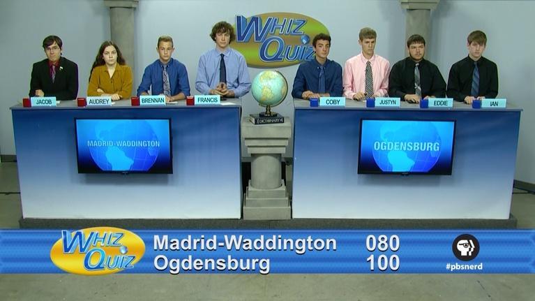 Whiz Quiz: Madrid-Waddington vs. Ogdensburg