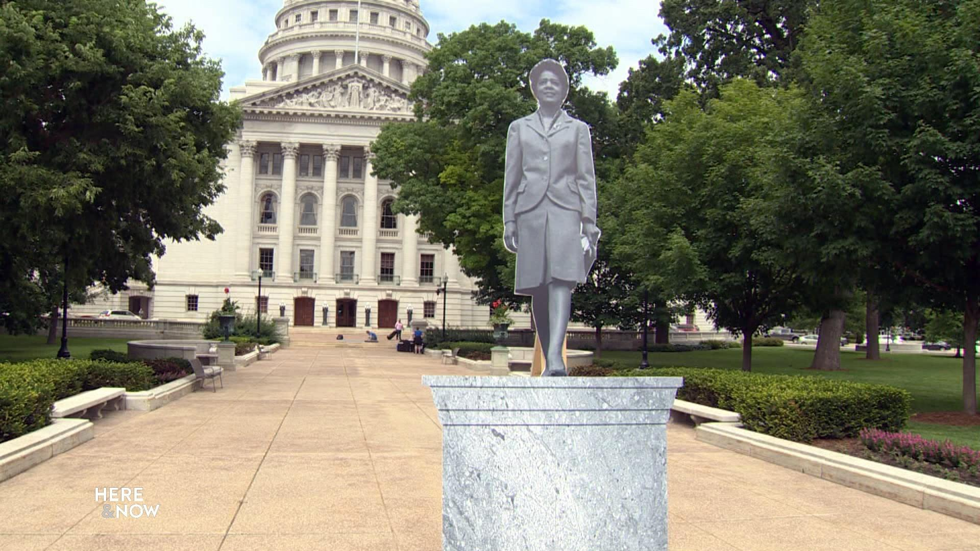 Previewing a Statue of Vel Phillips