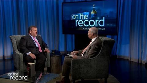 Former Gov. Chris Christie discusses his new memoir