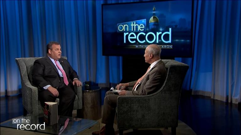 On the Record: Former Gov. Chris Christie discusses his new memoir