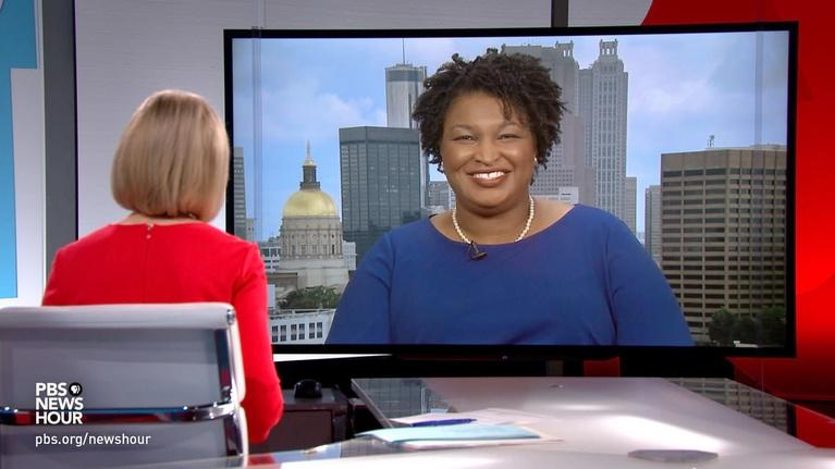 PBS NewsHour: Georgia 'is a bluer state than people realize,' Abrams says