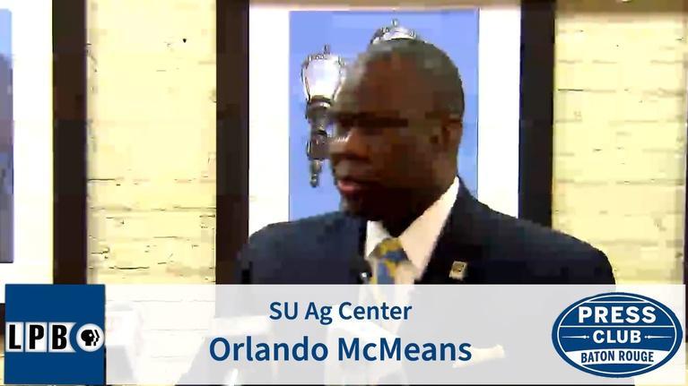 Press Club: SU AG Center | Orlando McMeans | 02/10/20 | Press Club