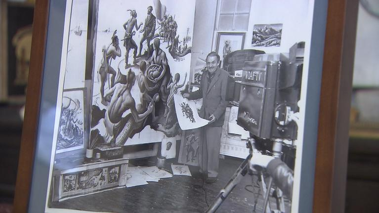 OzarksWatch Video Magazine: Thomas Hart Benton Home and Studio State Historical Site