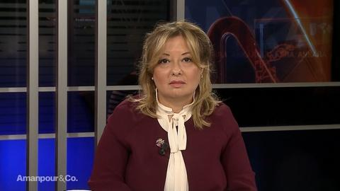 Amanpour and Company -- Gülnur Aybet on the Situation in Northern Syria