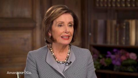Amanpour and Company -- Nancy Pelosi on President Trump's State of the Union Address