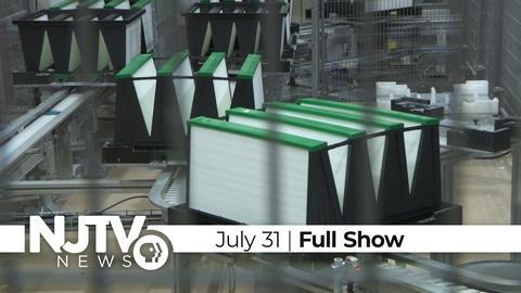 NJTV News: July 31, 2020
