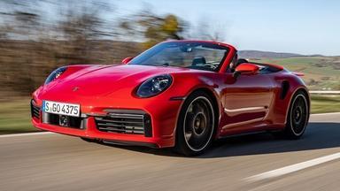 2021 Porsche 911 Turbo S Cabriolet & 2021 Cadillac Escalade