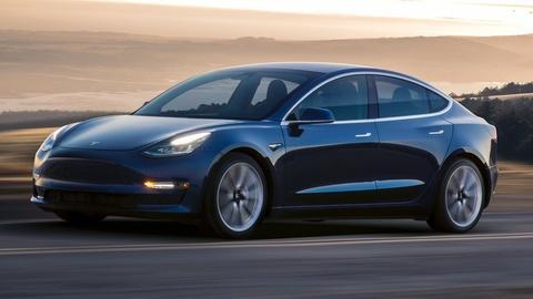 2018 Tesla Model 3 & 2018 Volvo XC60
