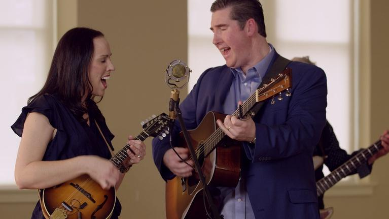 "David Holt's State of Music: Darin and Brooke Aldridge Sing ""I Found Love"""