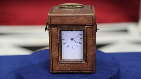 Antiques Roadshow -- Appraiser: French Carriage Clock with Case, ca. 1890