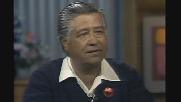 From the WTTW Archive: From the Archive: Cesar Chavez