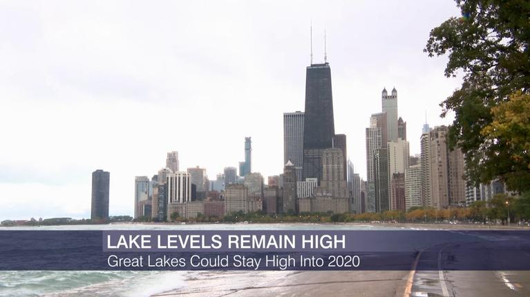 Chicago Tonight: High Water Levels in Lake Michigan Could Continue Into 2020