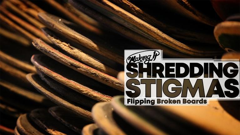 WVIZ/PBS ideastream Specials: Shredding Stigmas Around Skateboarding With Broken Boards