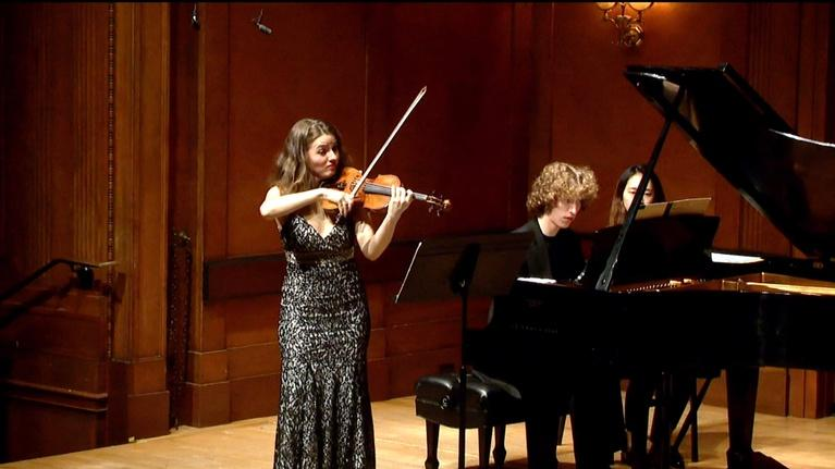 On Stage at Curtis: Brahms Sonatas and Beethoven Variations