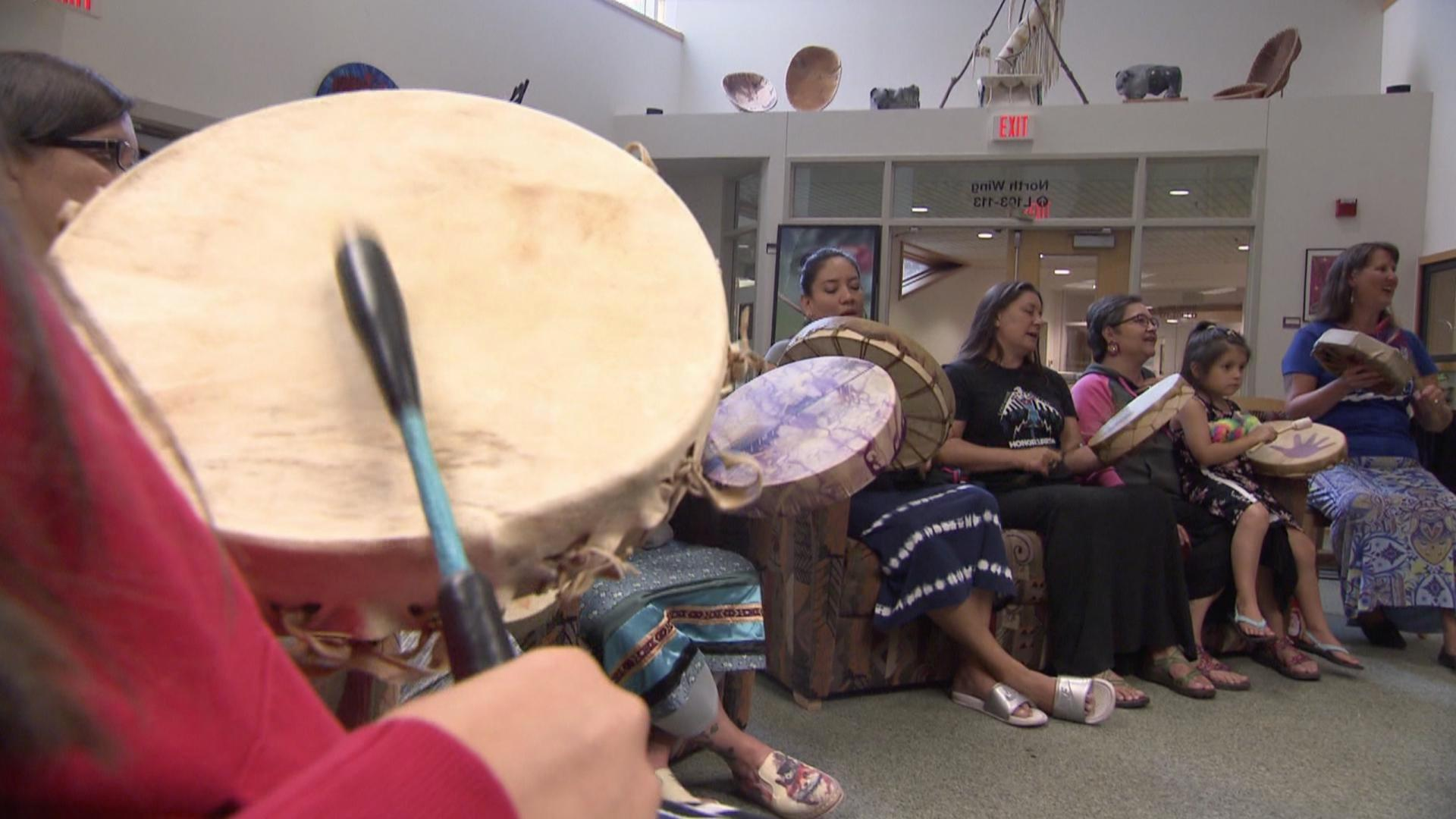 Economic wobble, Vikes preview, Native American drumming