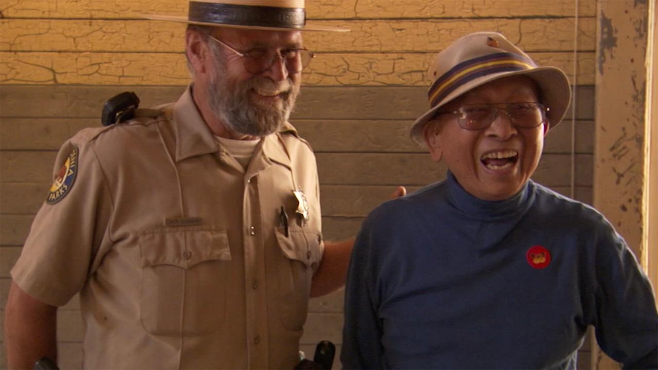 Tyrus Wong revisits Angel Island