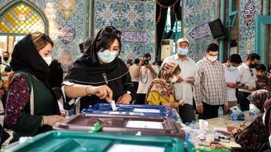 Iranians decry, boycott election rigged to favor hard-liner