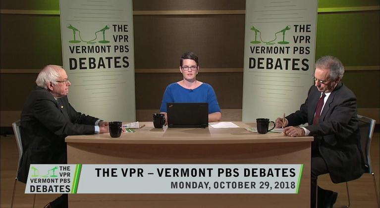 Vermont PBS Specials: U.S. Senator Debate 2018