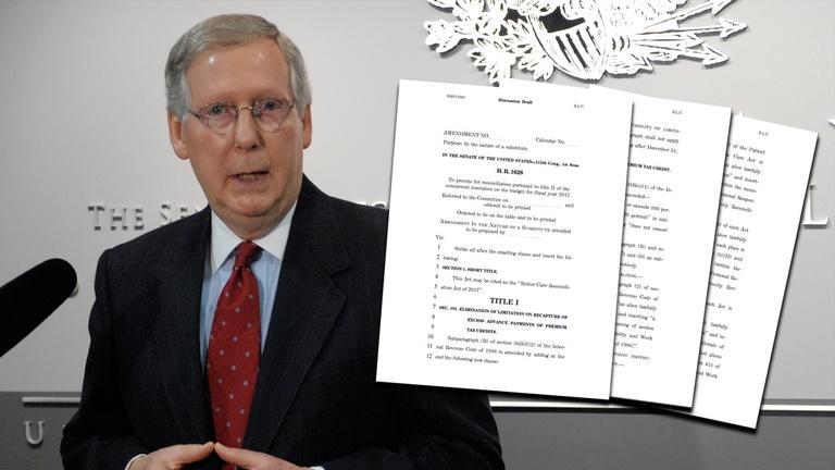 Senate Republicans debate Obamacare replacement bill