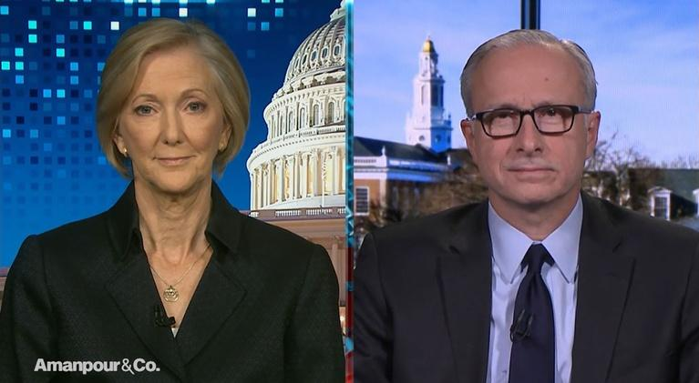 Amanpour and Company: Nancy McEldowney & James Baker on This Week's Hearings