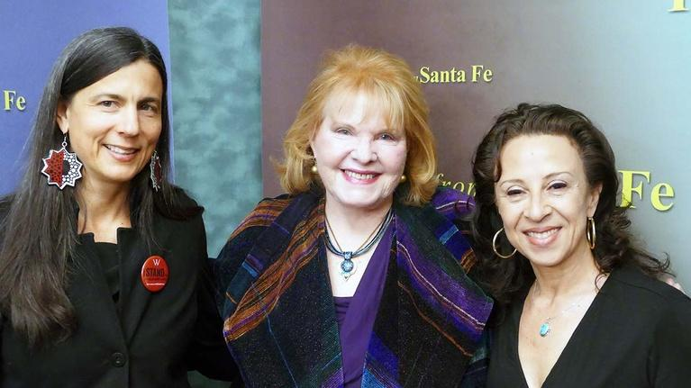 Report From Santa Fe, Produced by KENW: Maria Hinojosa and Sarah Ghiorse,