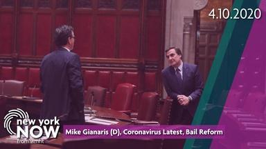 Senator Mike Gianaris, Coronavirus Latest, Bail Reform