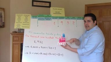 Place Value with Mr. Romero - Miguel Romero - Fifth Grade