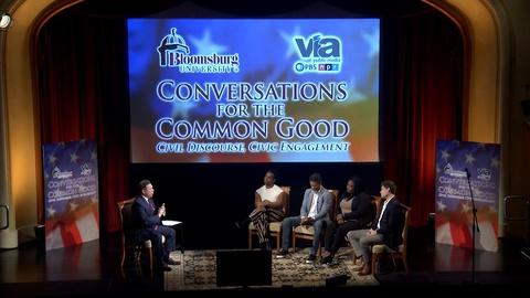 WVIA Special Presentations -- Conversations for the Common Good - Sport, Race and Protest