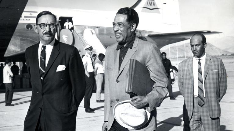 "The Jazz Ambassadors: Duke Ellington on ""American music""."