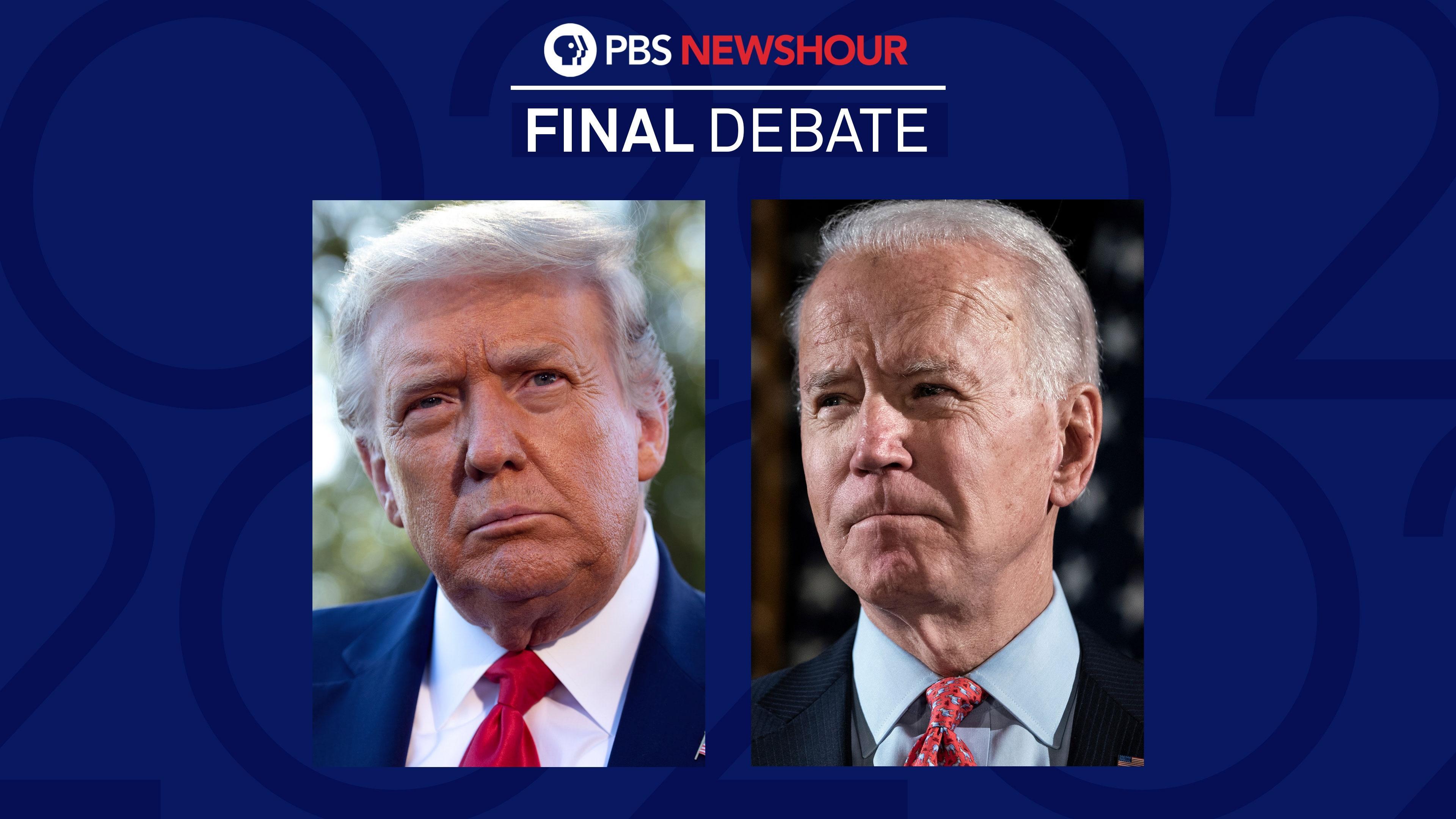 2020 Final Presidential Debate