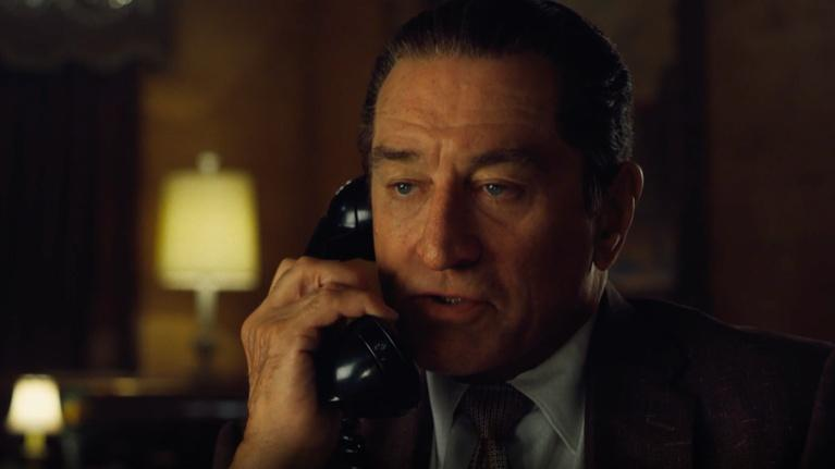 "Flicks: Robert De Niro for ""The Irishman"""