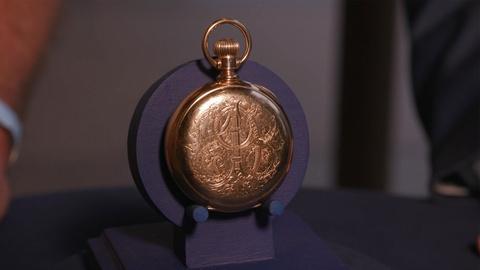 Antiques Roadshow -- Appraisal: 1889 President McKinley Presentation Watch