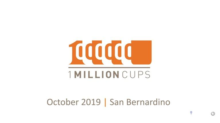 State of the Empire: One Million Cups October 2019
