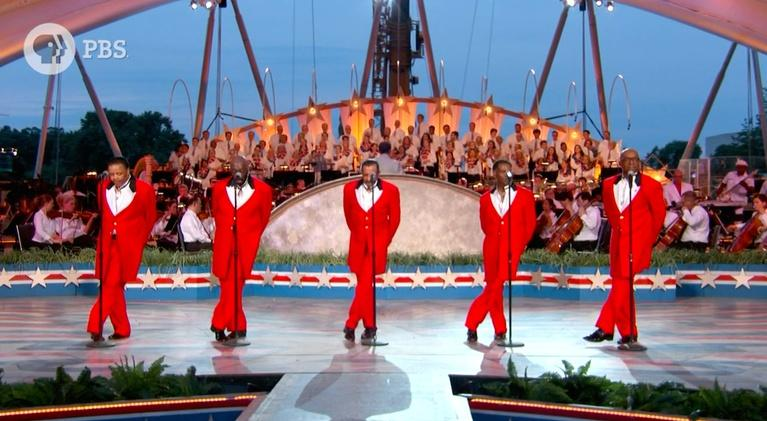 """A Capitol Fourth: The Temptations Perform """"My Girl"""""""