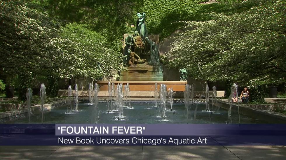 Chicago's Fountains Make a Splash in New Book image