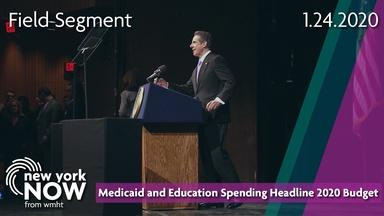 Medicaid and Education Spending Headline Cuomo's 2020 Budget
