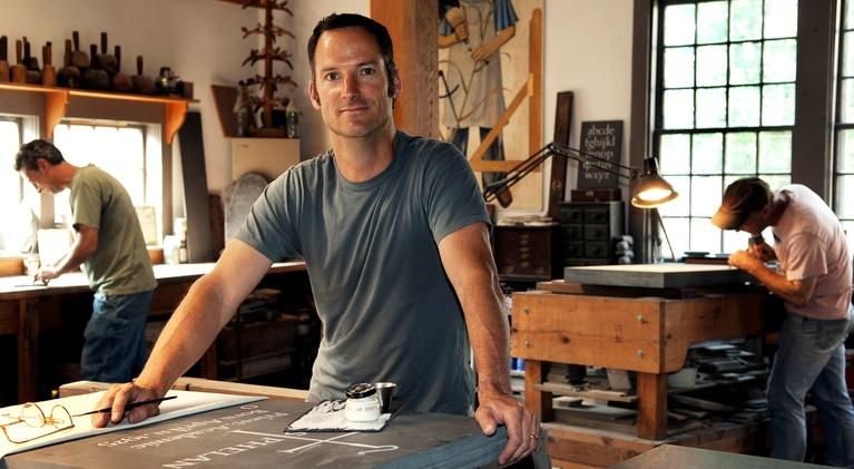 Good Work: Masters of the Building Arts: Meet Nick Benson, Stone Carver and Letterer