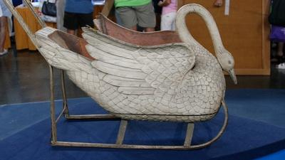 Appraisal: Child's Swan Sled, ca. 1880