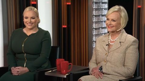 Cindy & Meghan McCain