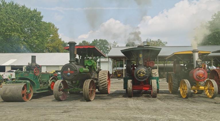 Short Takes: Rough & Tumble Steam Tractors