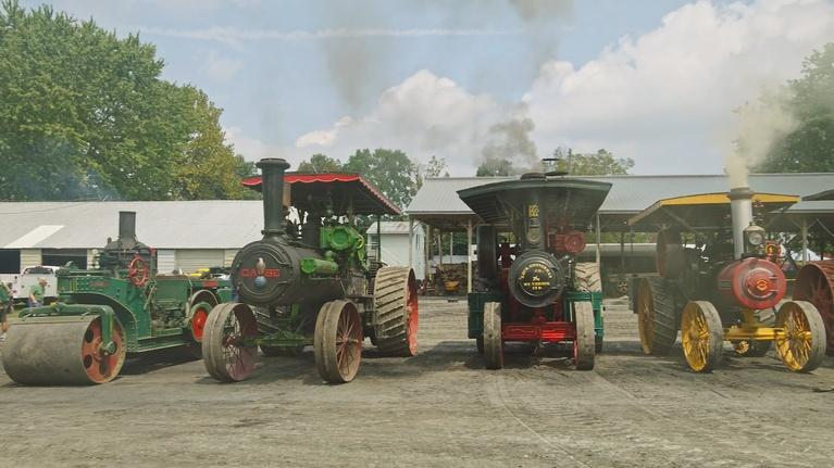 Short Takes: Rough & Tumble Steam Tractors