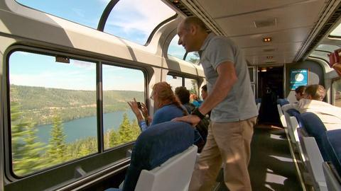 10 That Changed America -- Web Extra: A Modern Ride on the Transcontinental Railroad