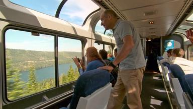 Web Extra: A Modern Ride on the Transcontinental Railroad