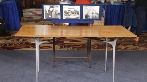 "Antiques Roadshow -- Appraisal: ""Kitchen Debate"" Table, ca. 1959"